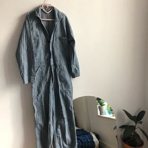Vintage workwear coveralls jumpsuit XS